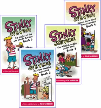 Stinky Stevens Buy all 4 Books